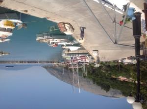 Siste havn i Hellas, idyllisk plass.